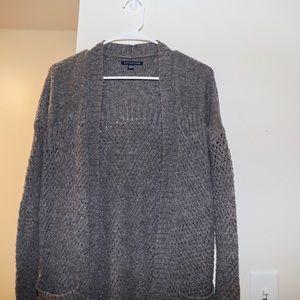 Brownish gray cardigan | American Eagle